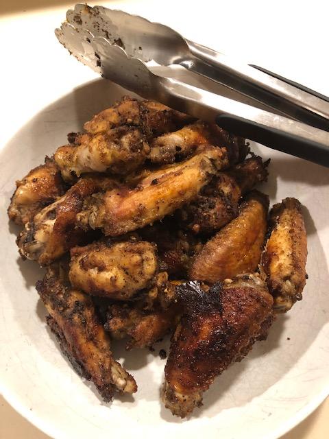 Marinated Smoky Wings Baked